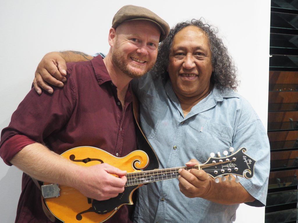 JB with Steve Apirana